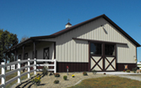 Horse Barns - Personal Stables