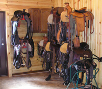 Tack Room Picture - Horse Barn