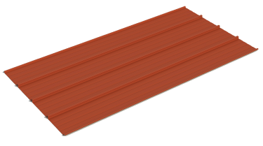 Metal roofing panel