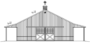 Pole Barn Roof Truss Designs besides Free Pole Barn Plans together with Wood Frame Carports together with Doghouse in addition Roof Studies. on building a lean to roof