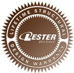 Lester Buildings Lifetime Structural Design Warranty