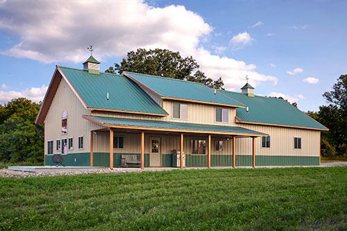 Building A Pole Barn House, Can You Build A Pole Barn House With Basement