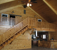 Horse barns horse stables barns with living quarters for Horse stable plans with living quarters