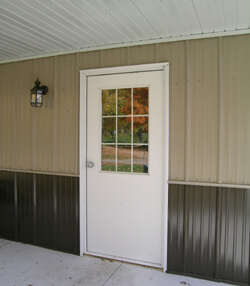 Walk Doors AJ Walk Doors & Steel Sliding Doors u0026 Windows - Barn Hydraulic Doors - Lester Buildings