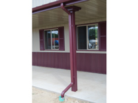 Gutters & Downspouts - Post-Frame Building Option