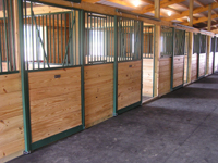 Signature Horse Stalls - Post-Frame Building Option