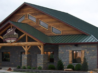 Standing Seam Roof - Post-Frame Building Option