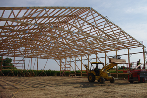 Steel Trusses for Pole Barns