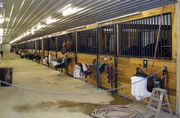 Libertyville IL, Stable and Arena, Allen Miller, Lester Buildings