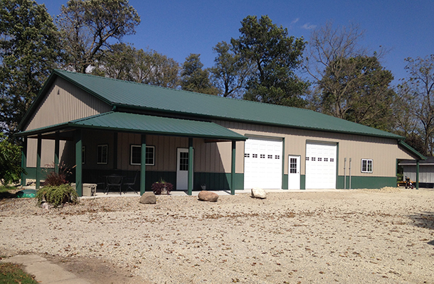 Forest City, IA, Archery Range and Kennels, K-Van Construction Co. Inc., Lester Buildings