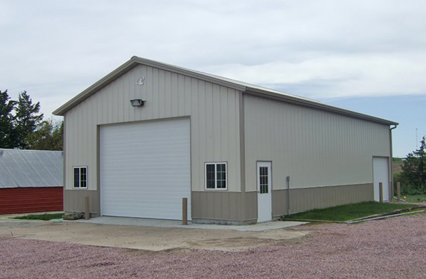 Fordyce Ne Ag Storage Shop Building Lester Buildings