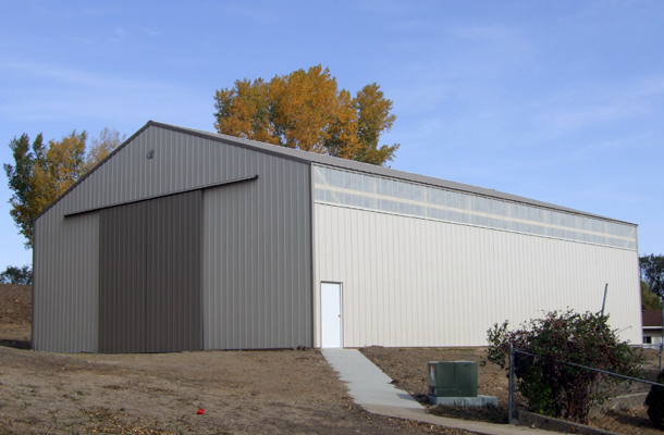 Hartington, NE, School Storage, Pinkelman Sales Inc., Lester Buildings