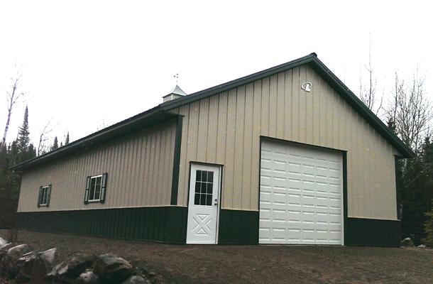 Orr Mn Garage Hobby Shop Building Lester Buildings