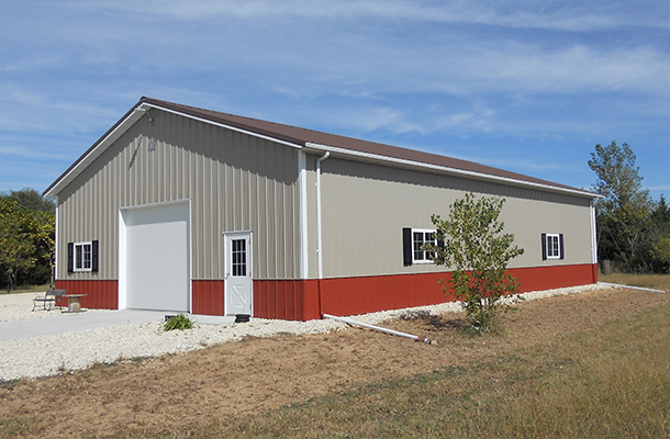 Halstead KS, Hobby Shop, Prairie Building Systems Inc., Lester Buildings