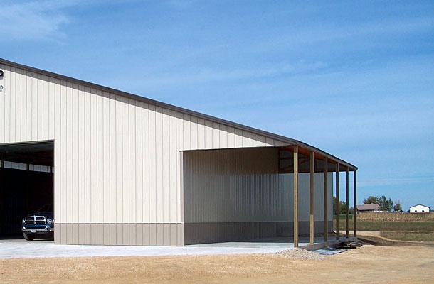 Caledonia IL, Crop Storage, Allen Miller, Lester Buildings