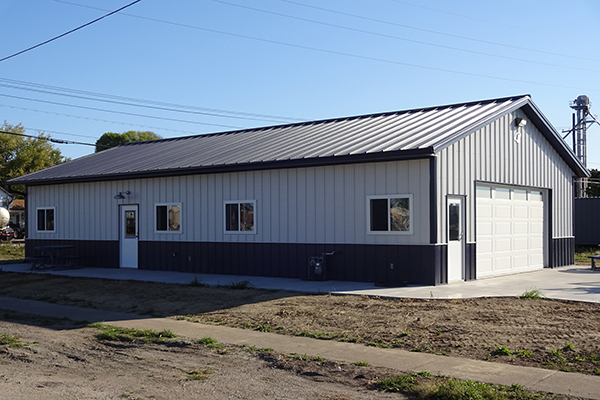 Geneseo IL, Hobby Shop, Bob Johnson Construction Inc., Lester Buildings, Eclipse Metal Roof