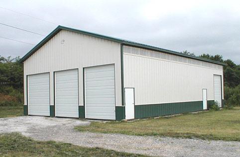 Mayer Mn Garage Building Lester Buildings Project 118062