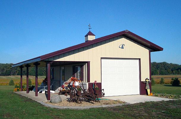 Fonda Ia Garage Building Lester Buildings Project 118024