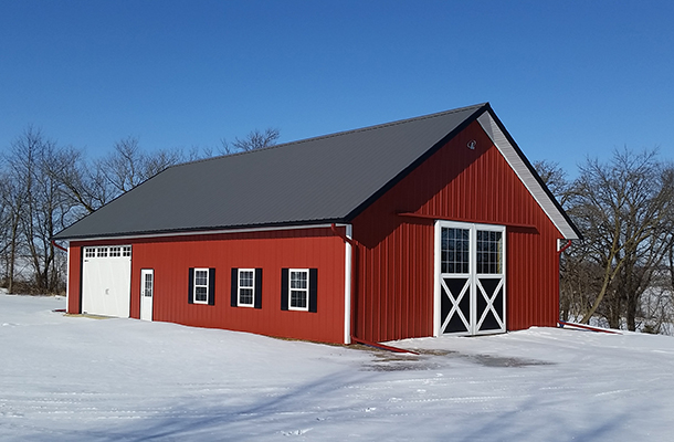 Zumbrota Mn Stable Building Lester Buildings Project