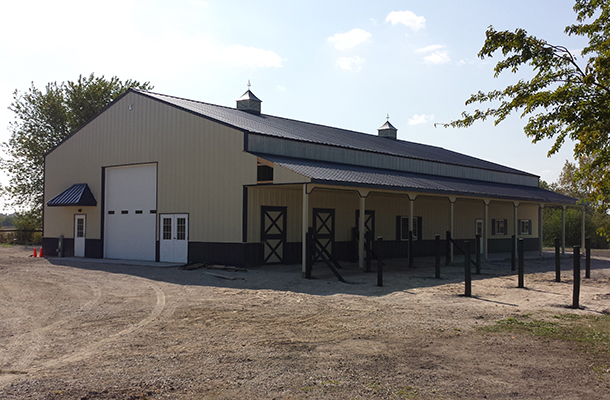 Frankfort, IL, Horse Stable, Andrew Johnstone, Lester Buildings