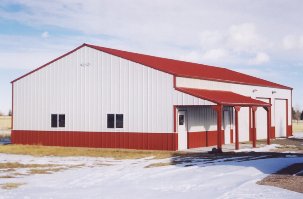 Cheyenne WY, Garage, Dalmac Construction, Lester Buildings