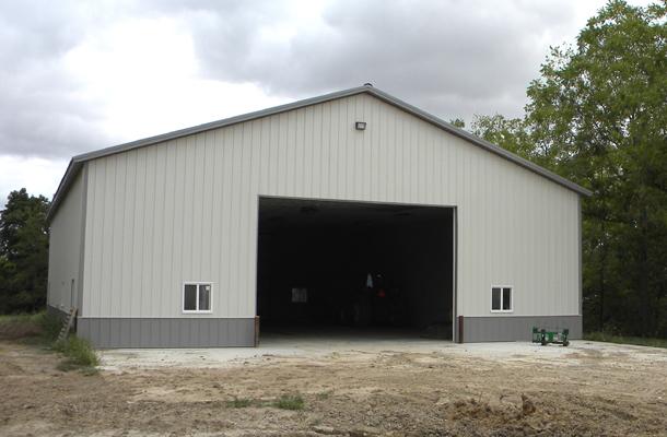 Columbus junction ia ag storage shop building lester for Pole barn specs