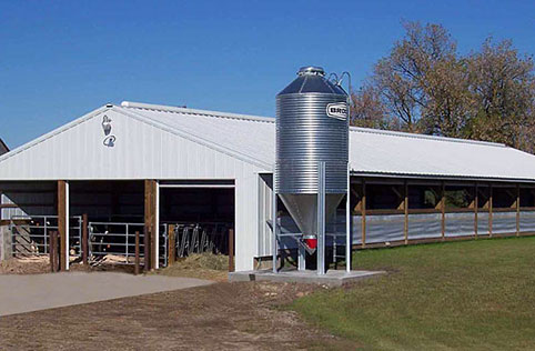 Mayer Mn Dairy Calf Housing Building Lester Buildings