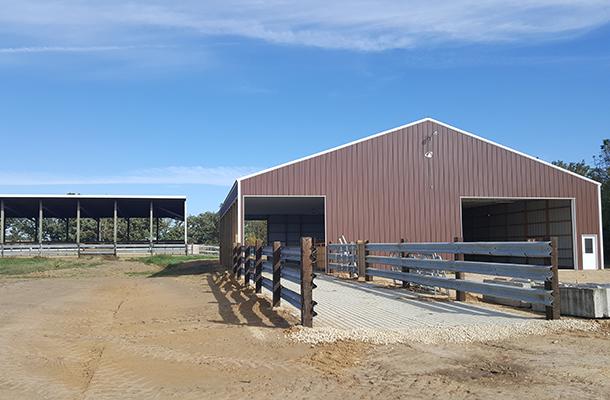 Mount Morris Il Beef Cattle Building Lester Buildings