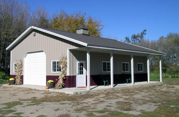 Silver Lake Mn Garage Building Lester Buildings
