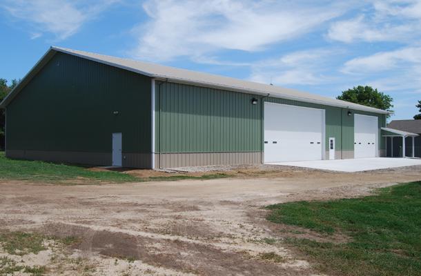 Lyons Ne Ag Storage Shop Building Lester Buildings