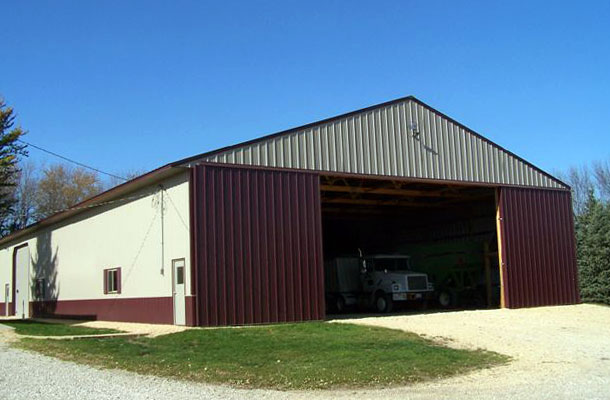 Easton MN, Ag Storage and Shop, Freeborns Pride Builders Inc., Lester Buildings