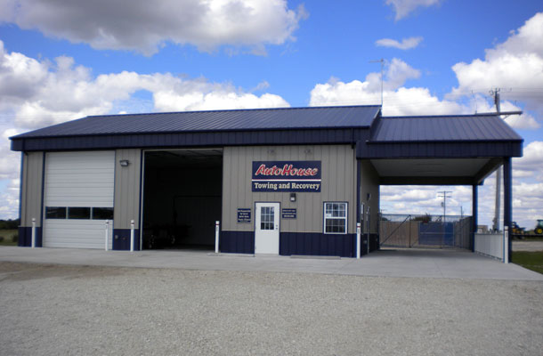 Marion KS, Vehicle Sales and Service, Flaming Metal Systems Inc., Lester Buildings