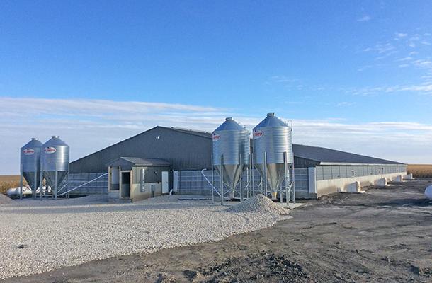 Newell Ia Hog Facility Building Lester Buildings