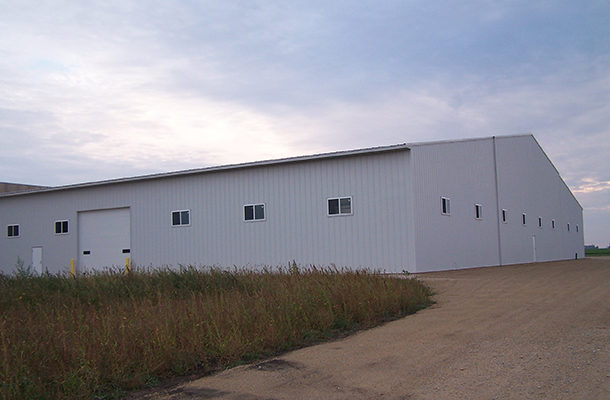 Hayfield, MN Commercial, Factory Storage, Prehn Building Sales Inc, Lester  Buildings