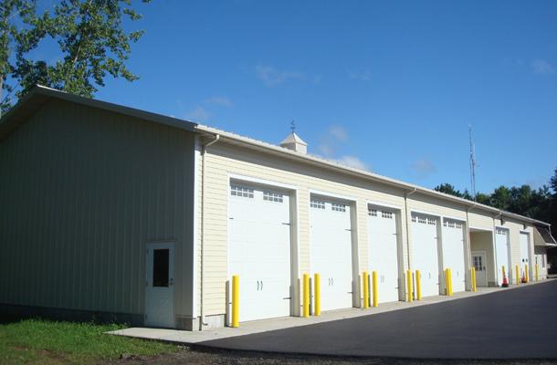 Hatfield Ma Fire Station Building Lester Buildings