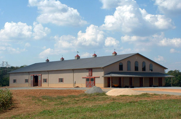 Sumerduck VA, Stable and Arena, Chris Daniels, Lester Buildings