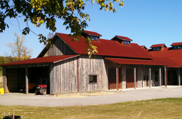 Madison Oh Winery Building Lester Buildings Project