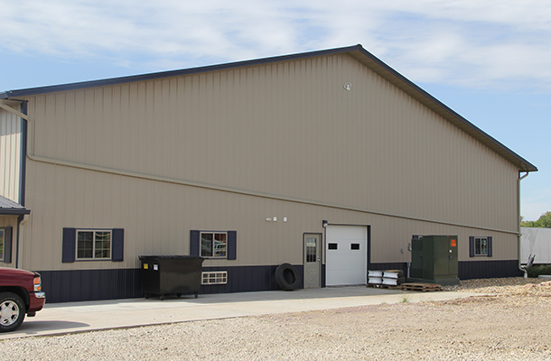 Rock Valley Ia Vehicle Storage Building Lester