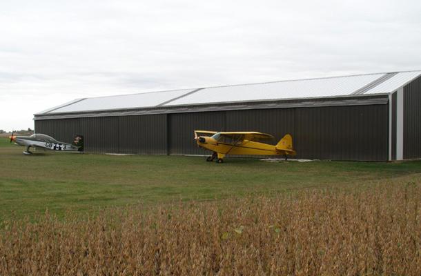 Geneseo Il Aircraft Hangar Building Lester Buildings