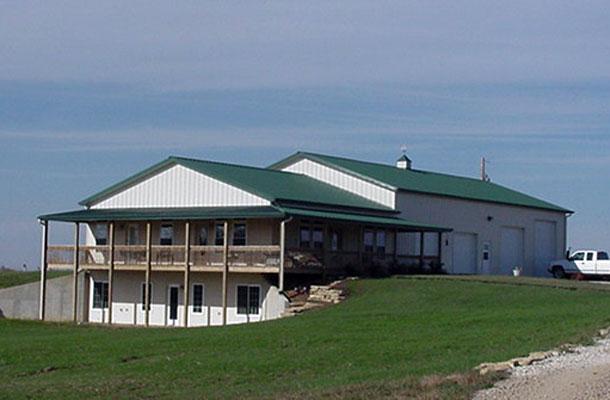 Topeka Ks Residential Building Lester Buildings