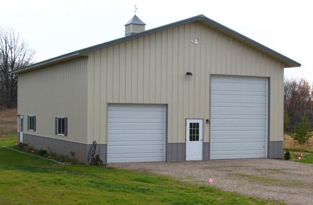 Scandia Mn Vehicle Storage Building Lester Buildings