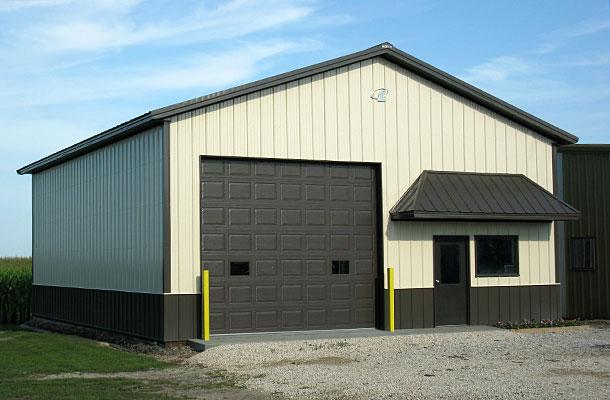 Fonda Ia Ag Storage Shop Building Lester Buildings