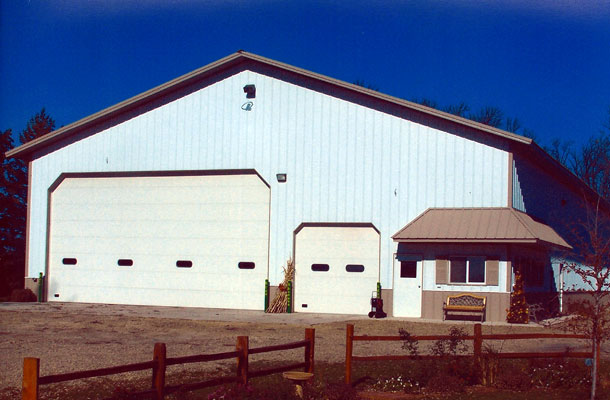 Easton MN, Ag Storage and Shop, Freeborn's Pride Builders Inc., Lester Buildings