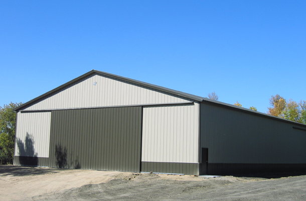 Montevideo, MN, ag storage, Daryl Delzer, Lester Buildings