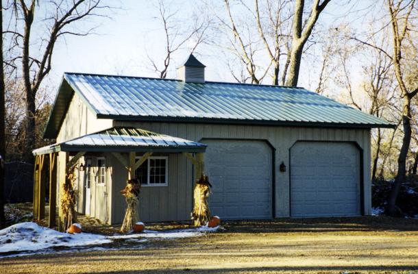 Howard Lake Mn Garage Building Lester Buildings