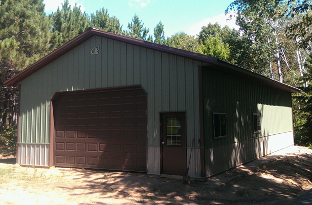 North Branch, MN, Garage - Hobby Shop, Steve Gustafson, Lester Buildings