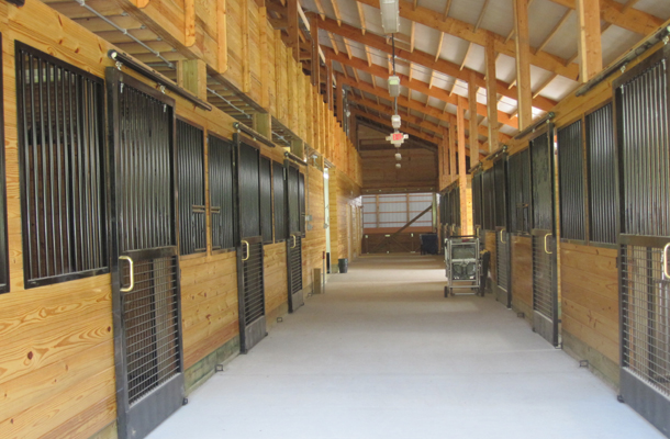 Sudbury Ma Stable Arena Building Lester Buildings