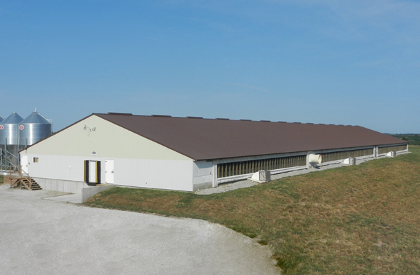 Russell Ia Hog Facility Building Lester Buildings