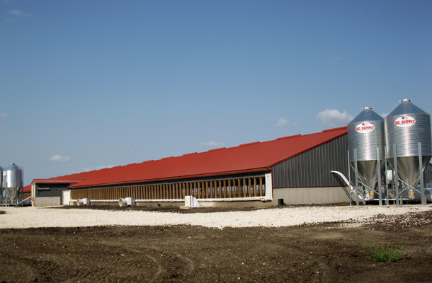 Storm Lake Ia Hog Facility Building Lester Buildings