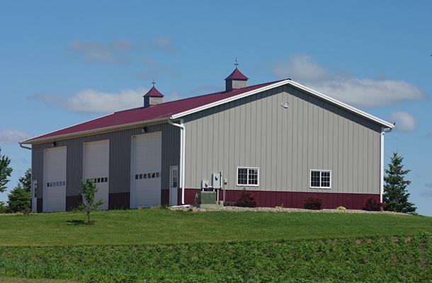 Mayer Mn Garage Hobby Shop Building Lester Buildings